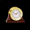 For those who seek the charm of our traditional Ship's Bell chime, but the convenience of a fine German quartz movement, we offer the Shipstrike Quartz clock. Crafted from forged solid brass, this clock features an easy to remove screw bezel and a sweep second hand.