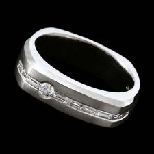 Scott Kay for Men Platinum wedding ring by Scott Kay