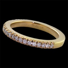 Pearlman's Bridal 18kt gold diamond eternity band