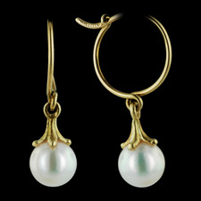 Pearlman's Collection Paul Morelli Pearl earrings