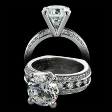 Peter Storm Naked Diamonds princes cut ring