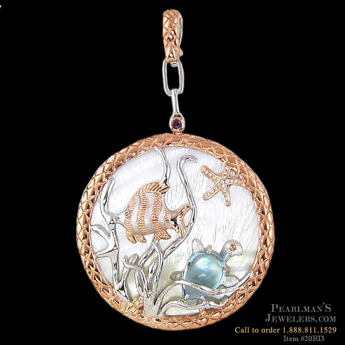 bellarri jewelry sea of pendant