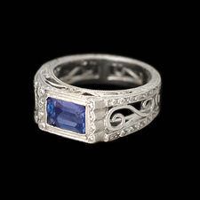 Cathy Carmendy Cathy Carmendy Platinum Tanzanite & Diamond ring