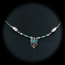 Estate Jewelry Vintage Beaded Turquoise Necklace