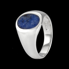 Metalsmiths Sterling Sterling silver Mens lapis ring