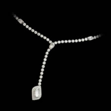 Simply beautiful!!  This is a hand made platinum diamond necklace by Beaudry.  The piece is set with a 2.27ct and 1.93ct tw pf