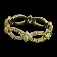 Bridget Durnell Infinity Collection Stackable Band - 18k yellow