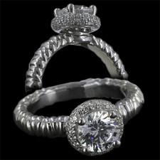 Harout R 18k gold engagement ring Harout R