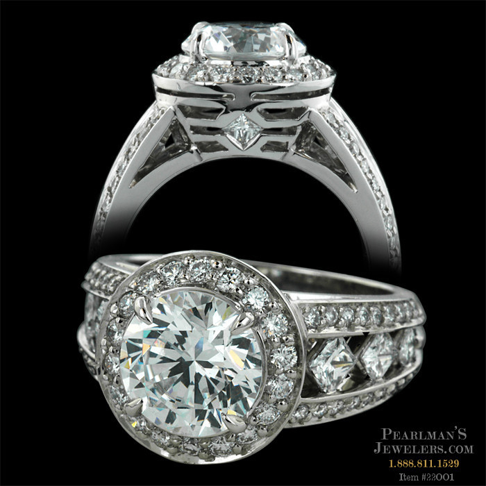 Peter Storm Jewelry Naked Diamonds Halo Engagement Ring