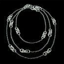 Dorfman Sterling Necklaces 22SS3 jewelry
