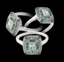 Beverley K Rings 234PP1 jewelry