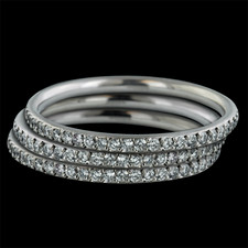 Bridget Durnell SOLO Set Eternity Band - Platinum