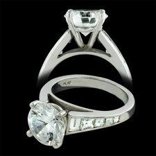 Sasha Primak Platinum engagement ring by Alexander  Primak