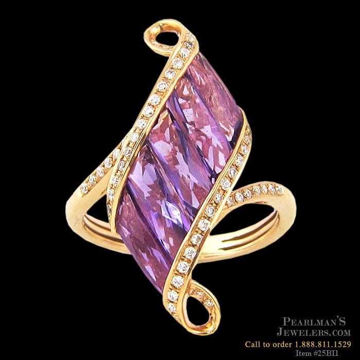 bellarri jewelry amethyst and ring