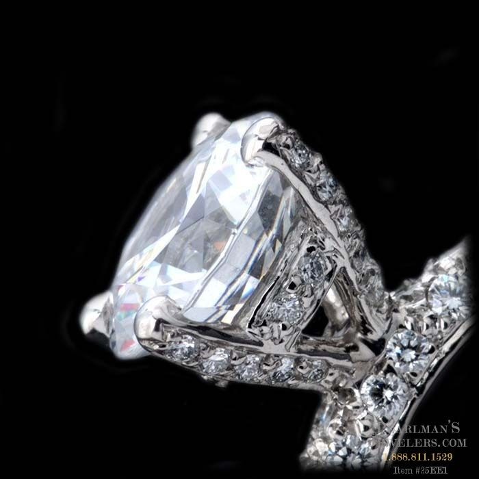 Pearlman S Bridal Pave Diamond Prongs
