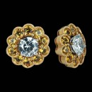 These are one of many beautiful earring jackets that Spark offers.  Shown with yellow sapphires and set in 18k gold with 1.60ctw in round yellow sapphires. The jackets measure 12mm in diameter. Center stone not included.
