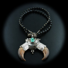 Estate Jewelry Rare bear claw necklace