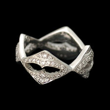 Closeout Jewelry Cathy Carmendy platinum & diamond ring