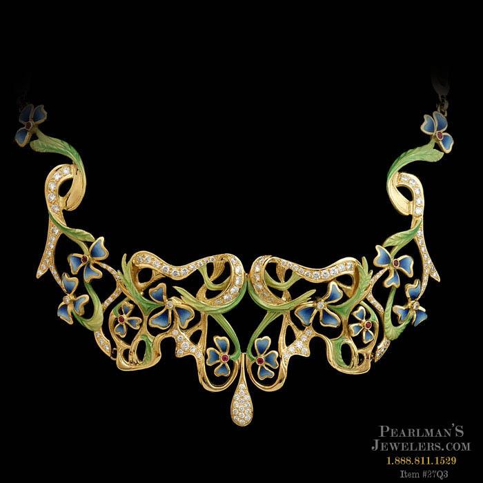 Nouveau Collection Necklaces