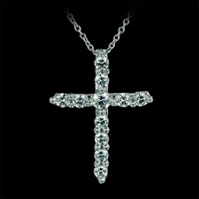 Gumuchian Gumuchian 18kt Twinset Diamond cross