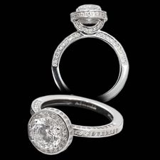 Alex Soldier Platinum diamond engagement ring