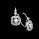 This beautiful pair of 18kt white and diamond Beverley K earrings are a perfect accent for any occasion, with .34ct of diamonds.  The diamonds are VS G-H. 19mm length x 10mm width.  Nice!!
