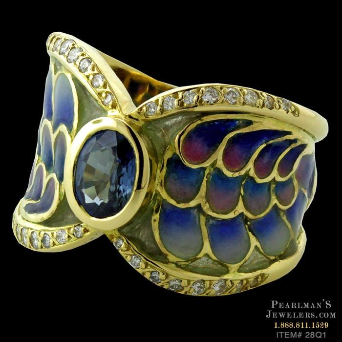Nouveau Collection Rings