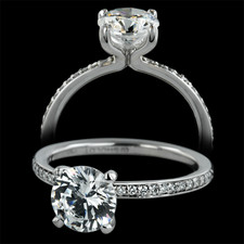 Sholdt  Sholdt platinum eternity engagement ring