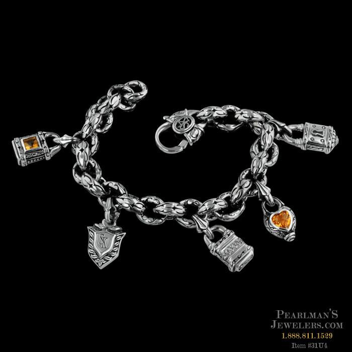 Kays Charm Bracelets: Scott Kay Sterling Jewelry Scott Kay Silver Charm Bracelet