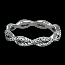 Sholdt  Diamond Infinity wedding band