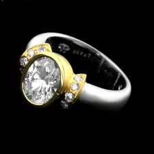 Chris Correia Chris Correia platinum & gold diamond ring
