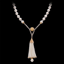 Robert Golden 14kt. gold pearl necklace