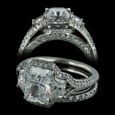 Bridget Durnell Forever and a Day Collection, Shown for 2.50ct Center