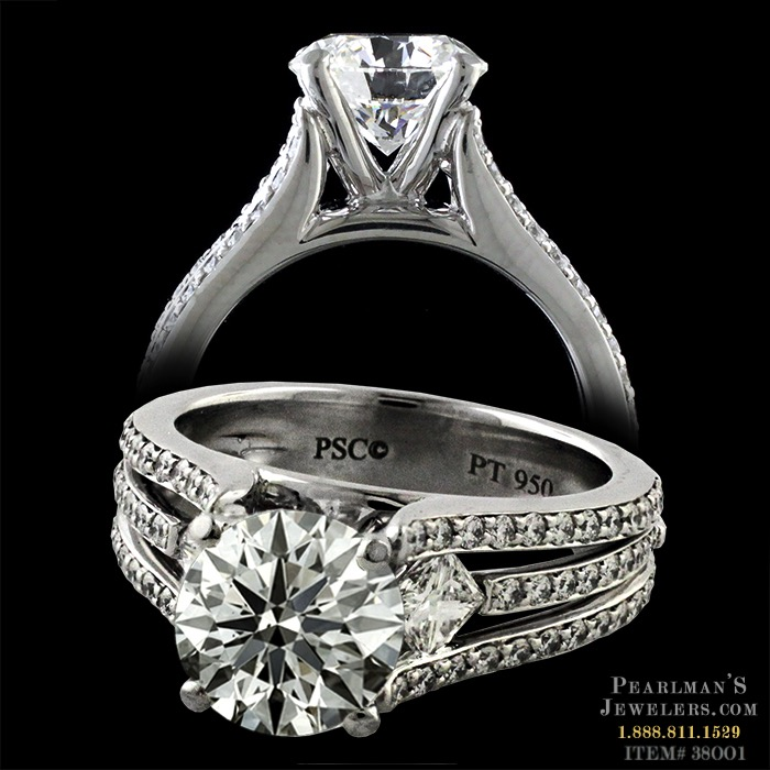 Peter Storm Princess And Round Diamond Ring