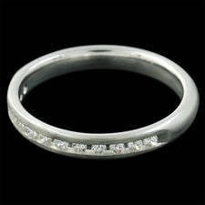 Charles Green Charles Green ladies diamond wedding band