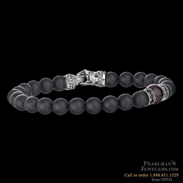 Scott Kay For Men Mens Beaded Bracelet
