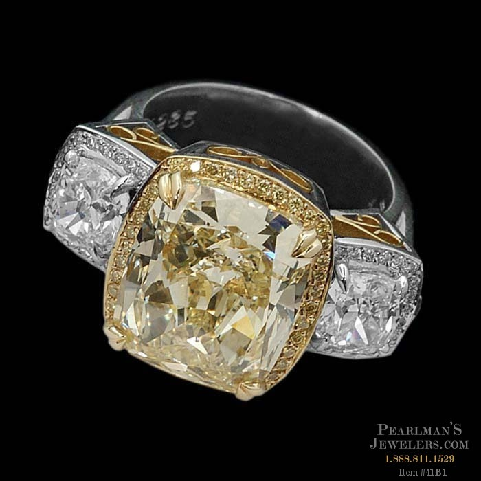 Michael Beaudry Jewelry Yellow Diamond And Side Diamond Ring. Neighborhood Watches. New Rings. Diamond Band Wedding Rings. Pear Shape Rings. Fashion Rings. Shark Tooth Pendant. Purple Gold Necklace. Couple Bangles