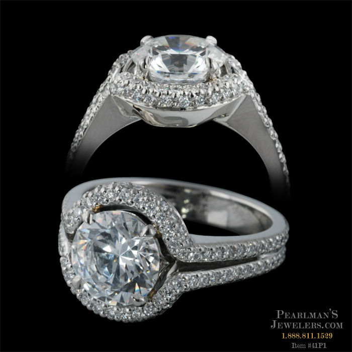 Michael b jewelry trois sport engagement ring for Michael b jewelry death