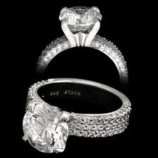 Michael B. Diamond Covered Engagement Ring