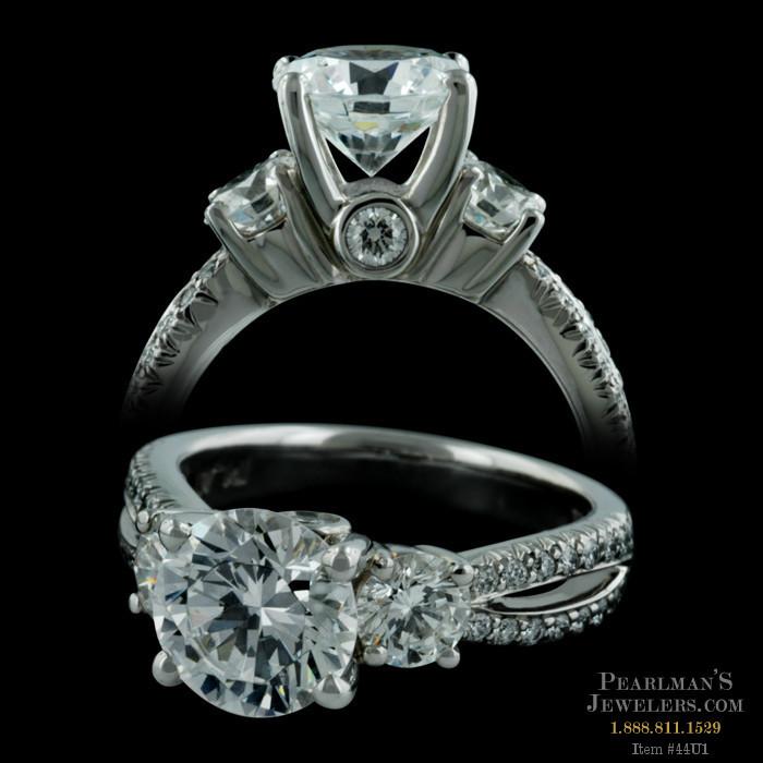 jewelry split shank pave