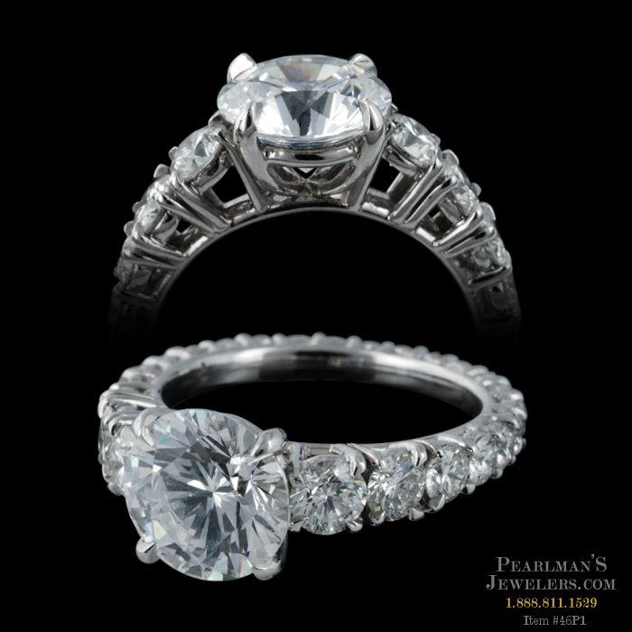 Michael b jewelry petite riviera diamond ring for Michael b s jewelry