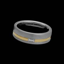 Christian Bauer 18k white & yellow gold wedding ring Christian Bauer