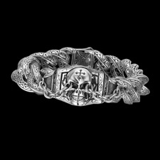 Scott Kay for Men Skull bracelet