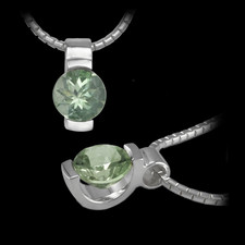 Metalsmiths Sterling Signature Collection Green Quartz