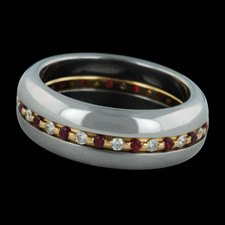 Steven Kretchmer inner secret band with rubies and diamonds
