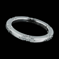 Michael B Pee Lace Platinum Diamond Wedding Band This Ring Is Set With 42 Diamonds