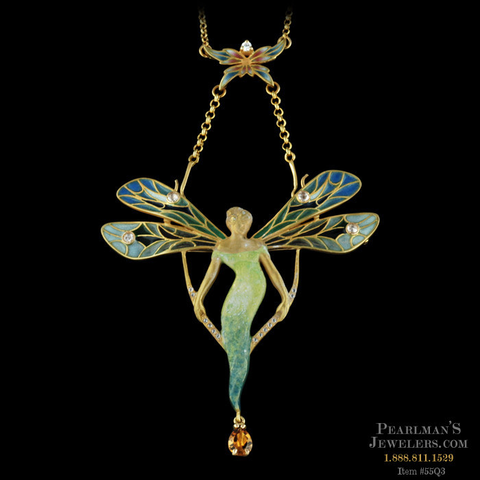 Nouveau Collection S Marvelous 18kt Yellow Gold Necklace W