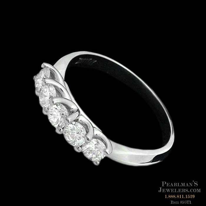 Scott Kay Platinum Five Diamond 0 18ct Wedding Band: A Captivating Platinum Wedding Band Design By Scott Kay. A