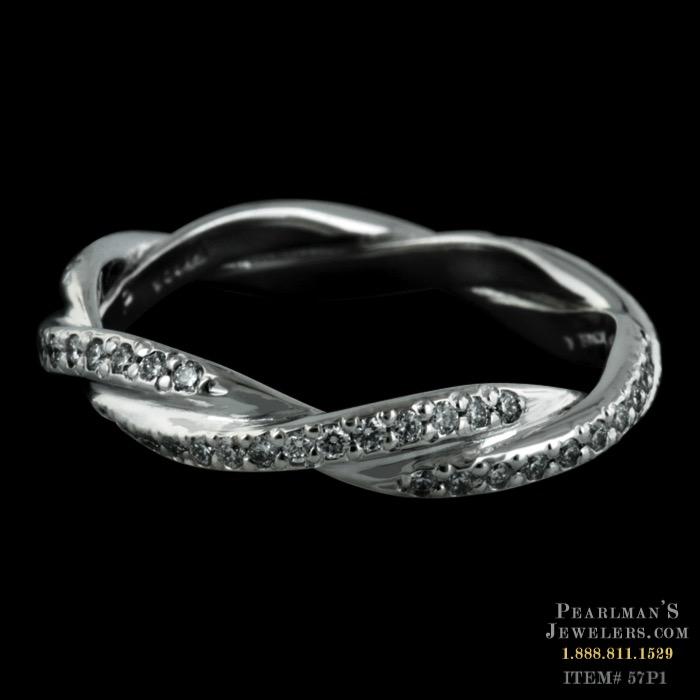 Michael B Jewelry Infinity Diamond Wedding Band