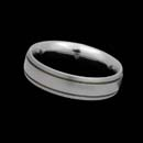 Designed by Christian Bauer, this classy platinum wedding band measures 6.0mm.